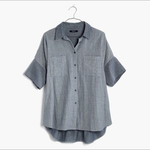 Madewell Courier Shirt in Lilydale Stripe
